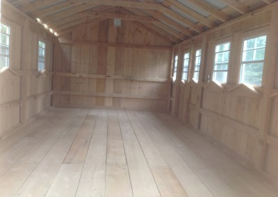 Amish Shed - Bunkie Before