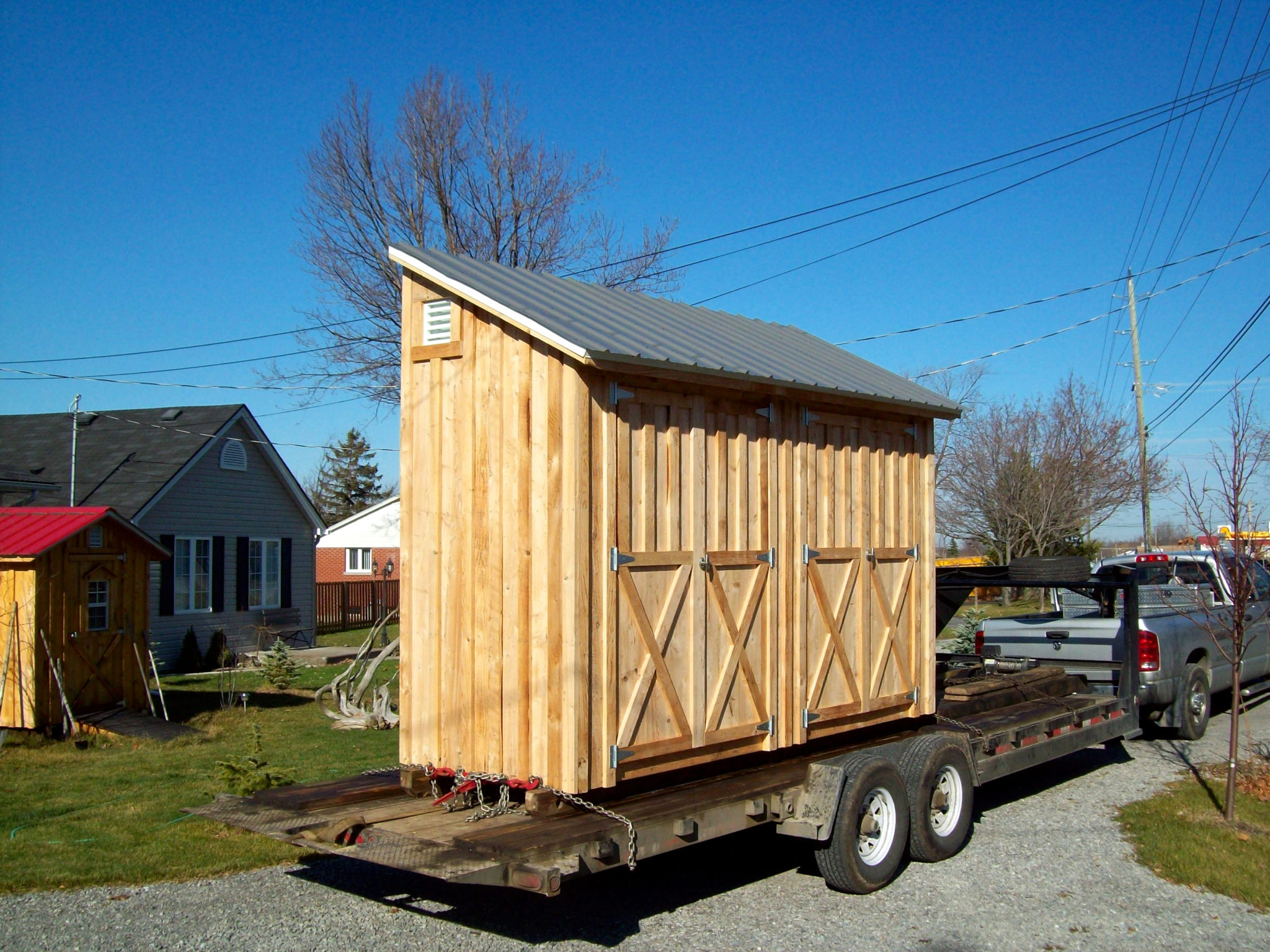 Amish Portable Sheds : Shed gallery amish sheds inc