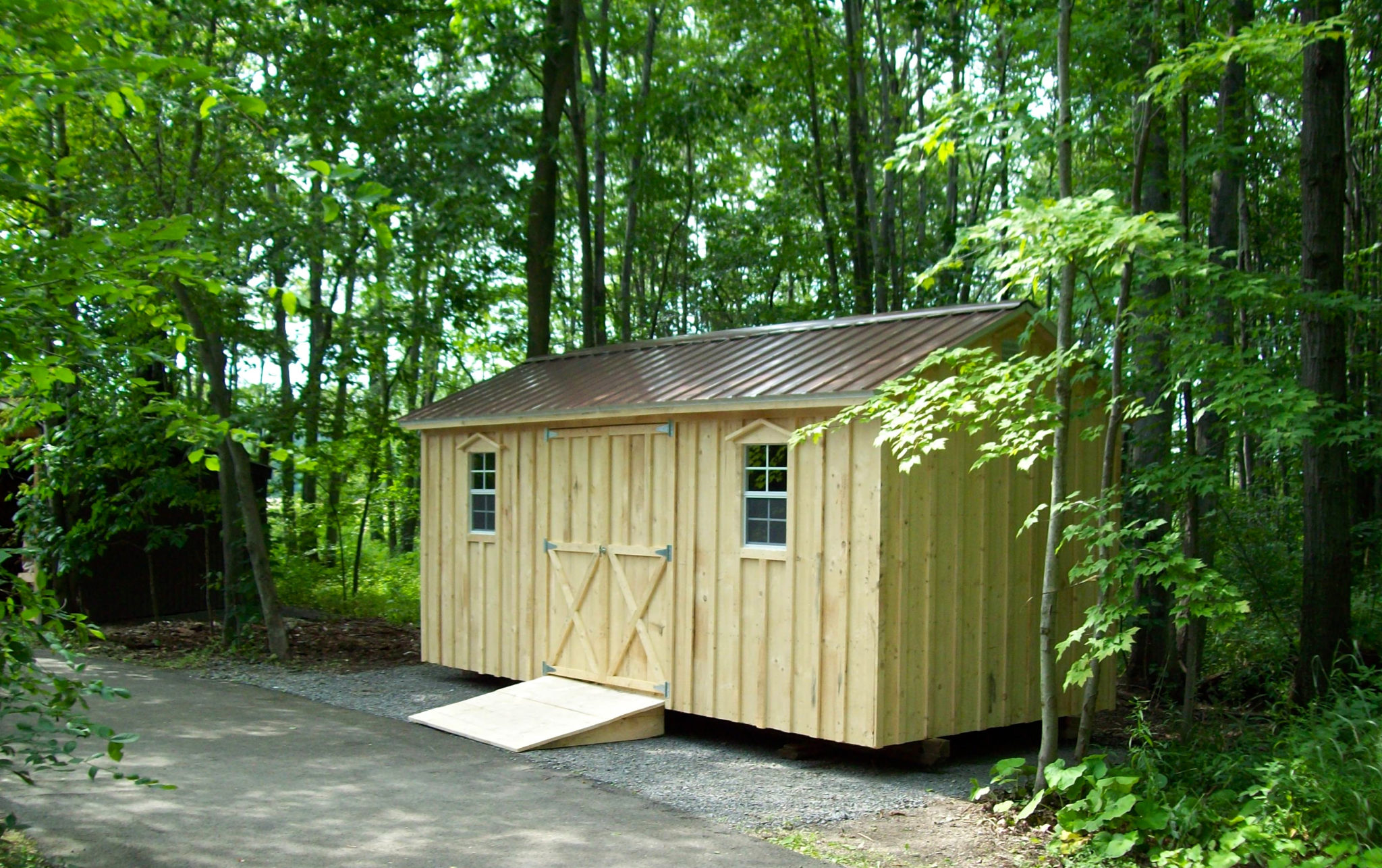 Amish Backyard Shed : Amish garden sheds ontario ftempo