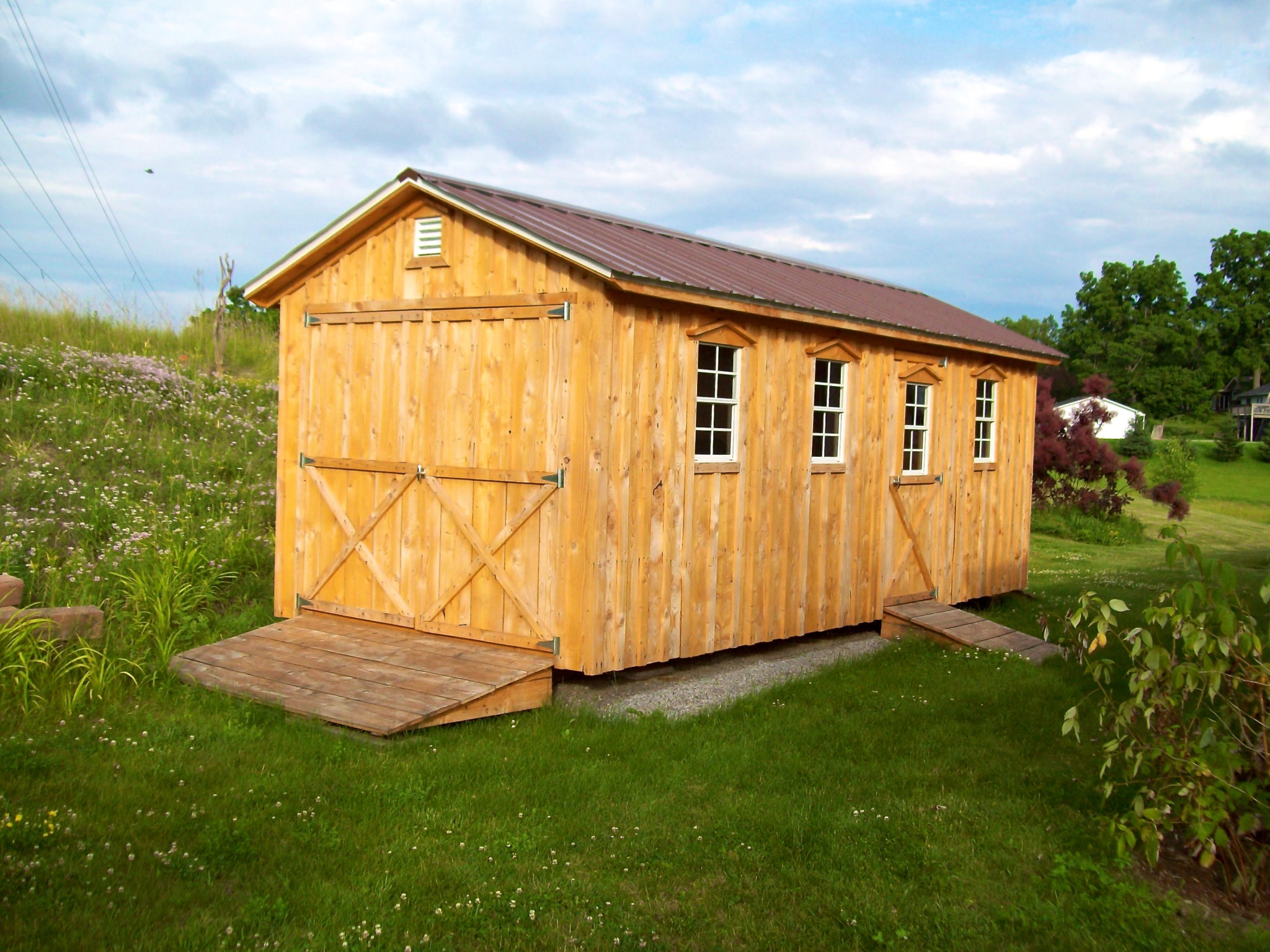 Amish Built Barns : Amish sheds