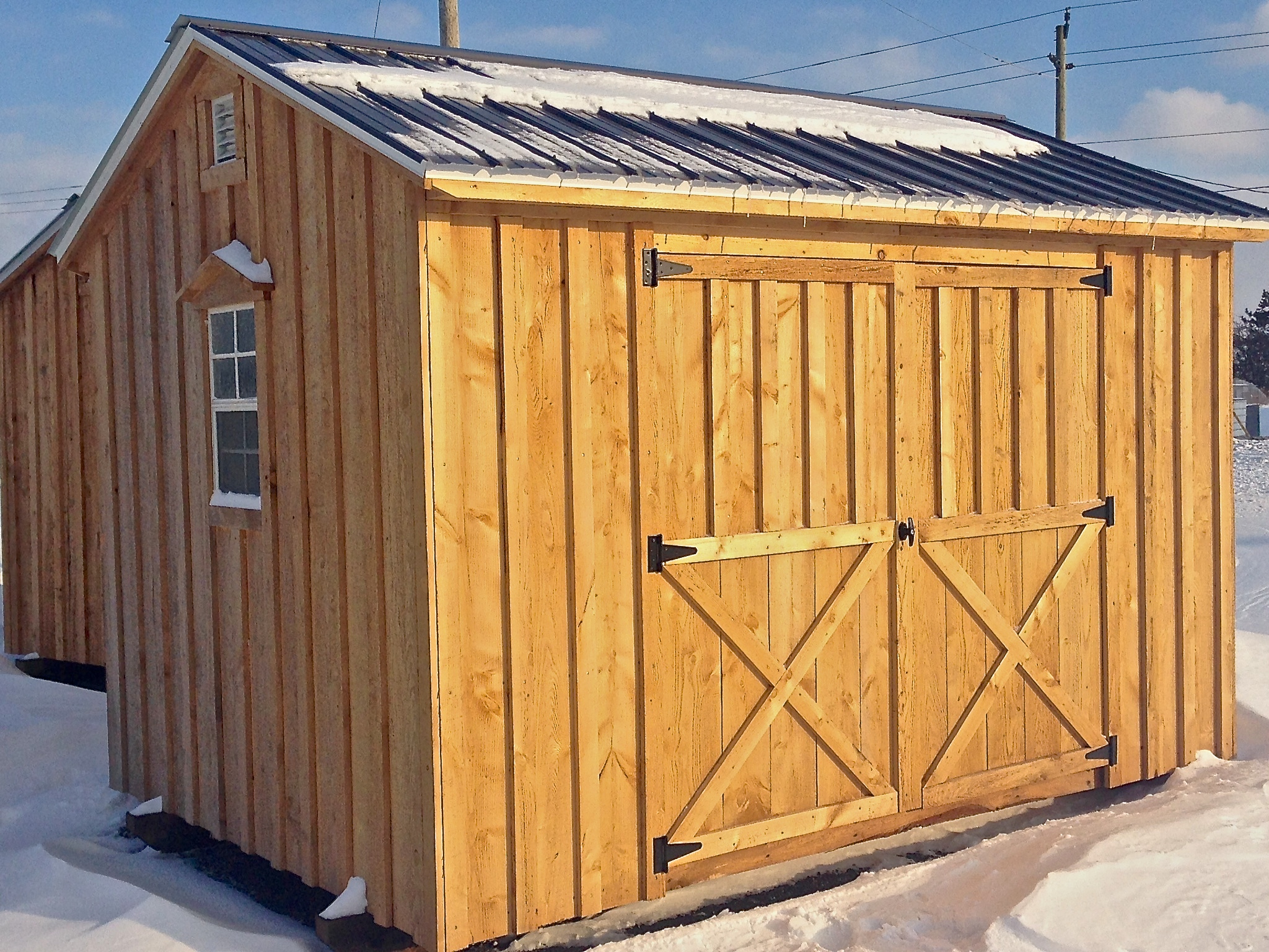 premium ramps pole and maintenance for entire shed around nov pm features overhang building photo storage sheds free