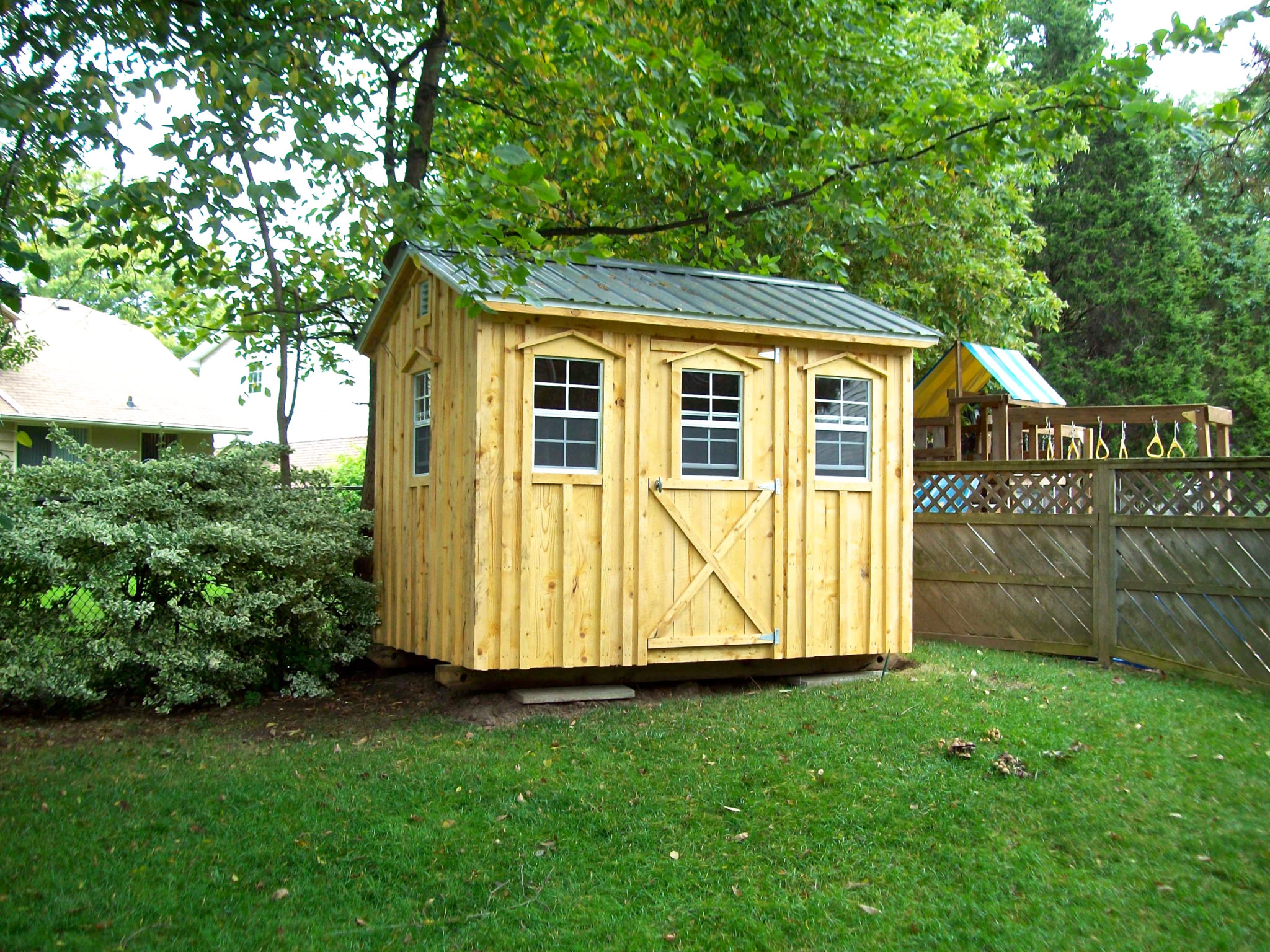 Shed gallery amish sheds inc for Shed roofs