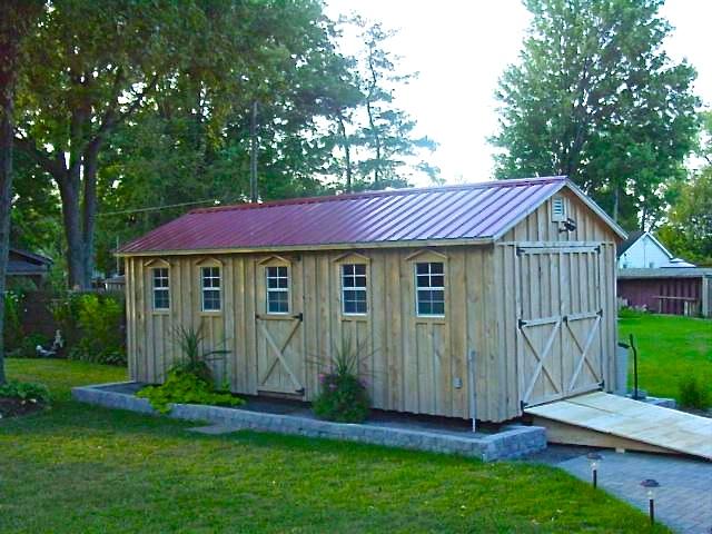 Shed kits for sale ontario oakridge 8u0027 x 12u0027 wood for Amish built sheds