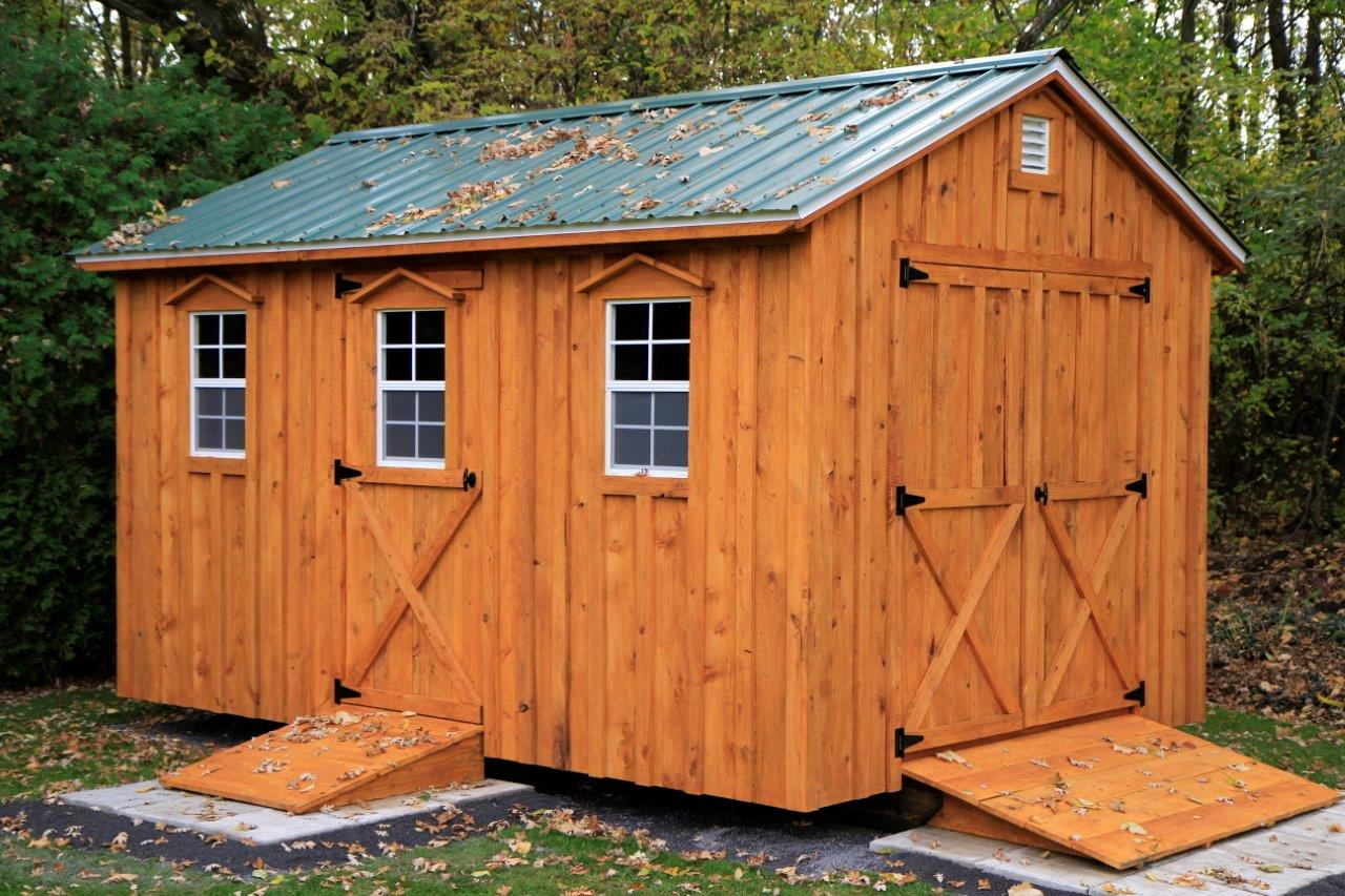Shed gallery amish sheds inc for Loft barn kits