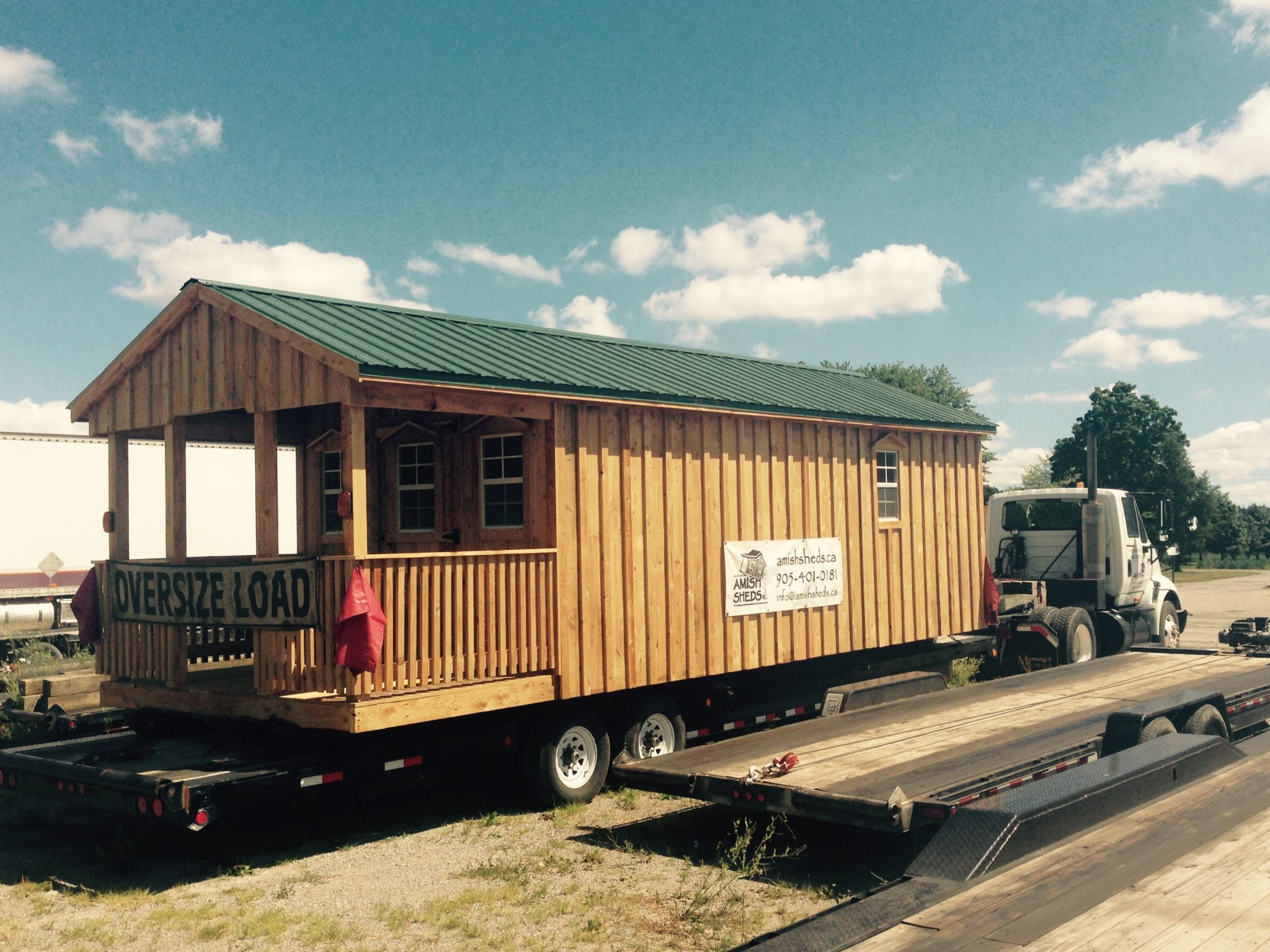 Site access delivery information amish sheds inc for Amish built sheds