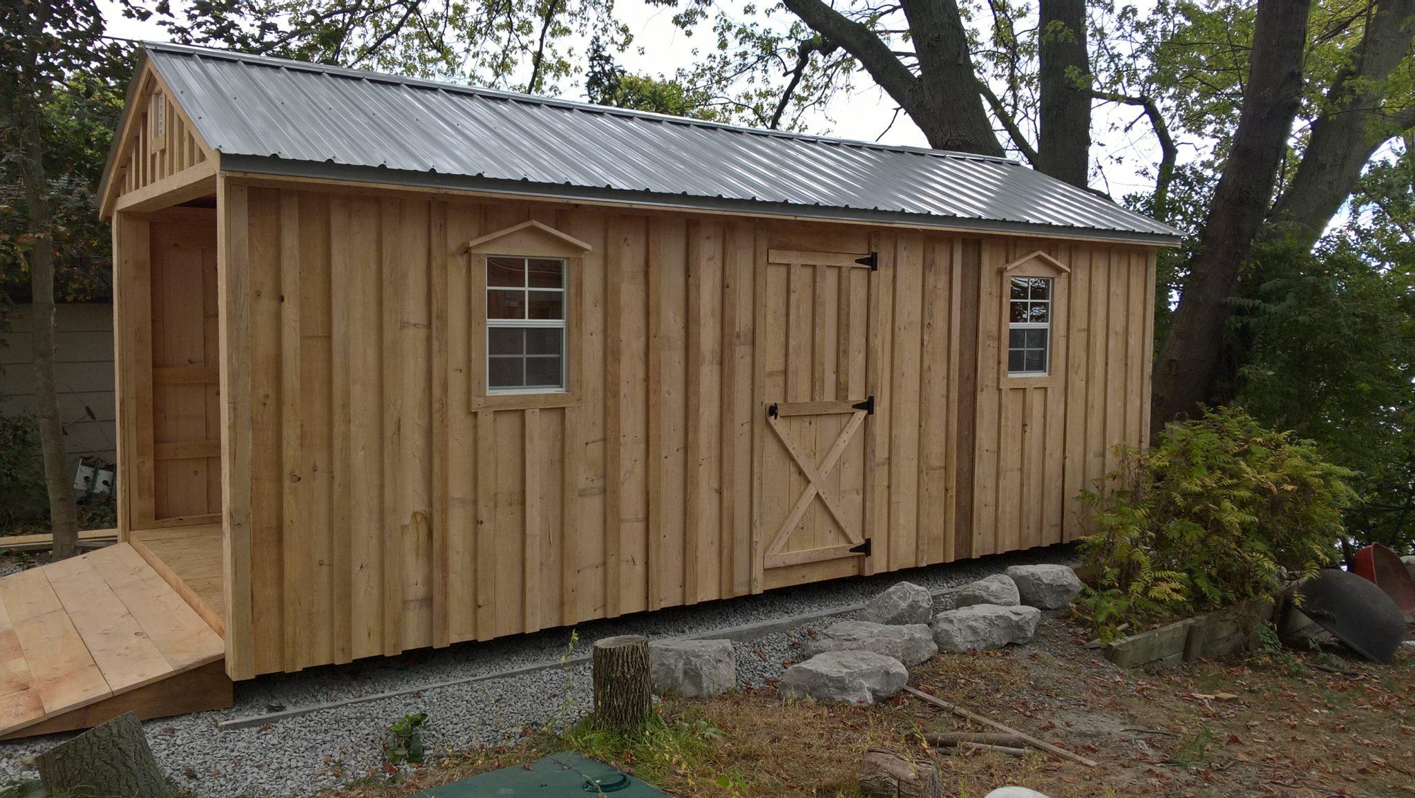 Amish Garages Built On Site : Amish sheds